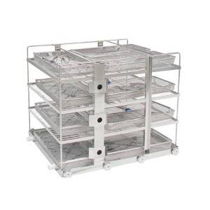 4-Layer Instrument Washing Rack