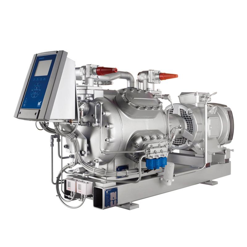 Marine air conditioning compressor