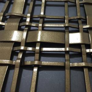 XY-2414P Stainless steel flat wire woven mesh screen