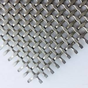 XY-3012 Stainless Steel Architectural Mesh Fabric for Decorative Panel