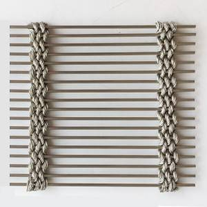 XY-M5285 Exterior Wall  Stainless Steel Mesh for Mall