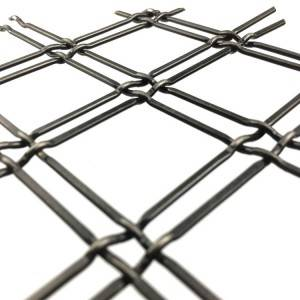 XY-D2P Antique Brass Wire Mesh Grill