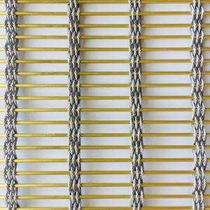 Wholesale Price China Metal Wire Mesh Facade Cladding - XY-M5327 Fireproof  Building Mesh for theater Interior Design – Shuolong