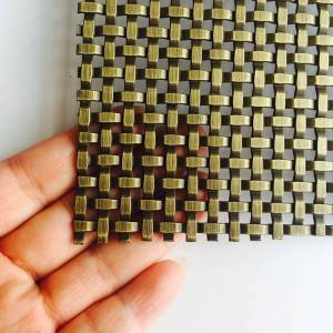 XY-3411G Antique Brass Square Mesh