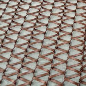 XY-A-SE Link Weave Metal Mesh for Ceiling