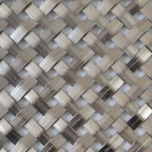 XY-712X Flat Architectural Steel Mesh