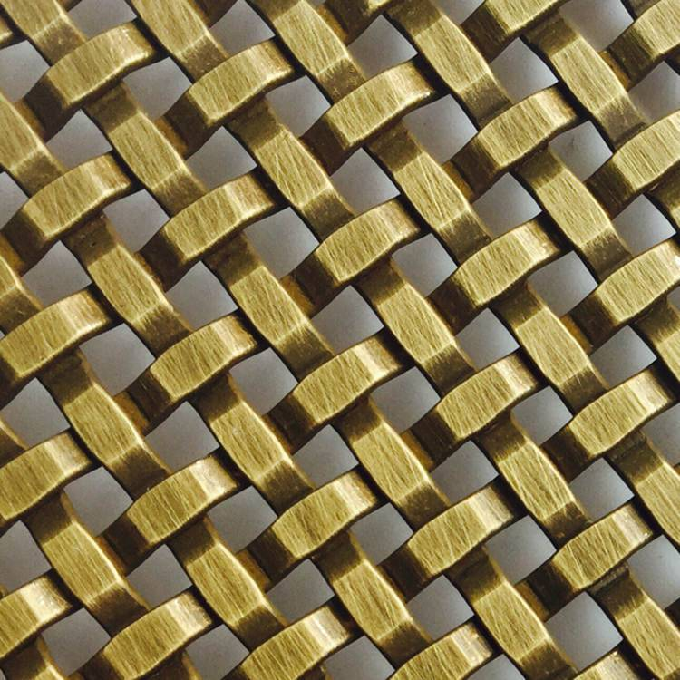 XY-3411G Antique Brass Square Mesh Featured Image