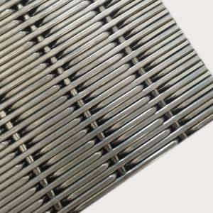 XY-2176 Stainless Steel Wire Mesh Panels for Cabinet Door