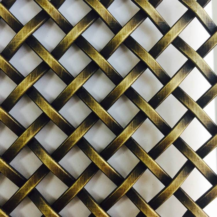 XY-3110G Antique Brass Mesh Grid Featured Image