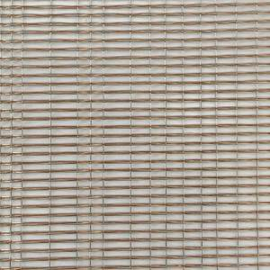 XY-R-04R Decorative metal mesh filled in glass
