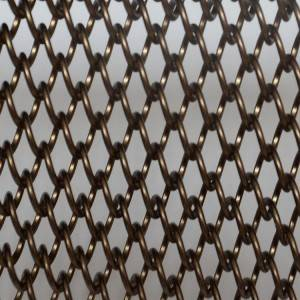 XY-AG1260 Bronze Wire Mesh Curtain for Divider