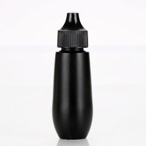30ml Black New Design Nail Wholesale Cream Container Plastic HDPE can Customized Thickness Polish Bottle
