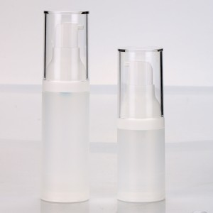 15ml 30ml New Arrival Plastic Alcohol Hand Sanitizer Pump Bottle Matte Hand Cream Container