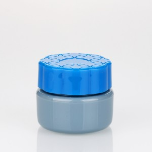5g colored makeup plastic jar wholesale blue designs uv glue container for nail gel