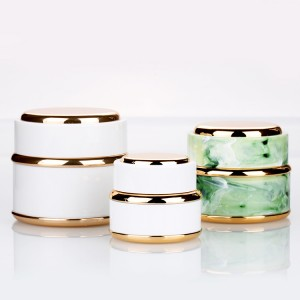 15g 30g 50g unique shaped cream empty jar beauty product packaging nail art polish containers