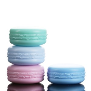 5ml 10ml Small Color Plastic Macaron Pot Beauty Personal Care Gel Polish Container on Sale