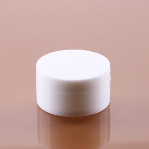 10g white cheap plastic bottles empty for nail polish cosmetic containers cream jar