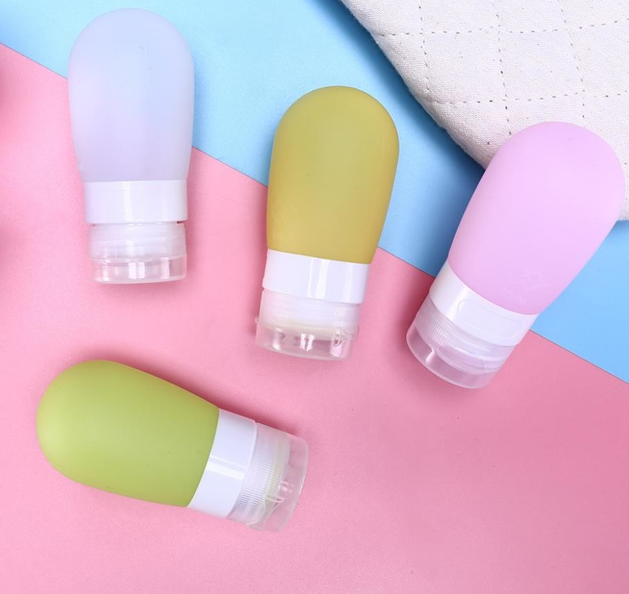 Beauty Airline 100ml Silicone Travel Packing Bottle Sphere Ball Shape