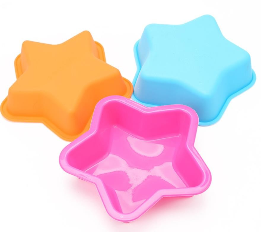 Unique Design Silicone Cake Molds , Silicone Baking Tins Long Lifespan