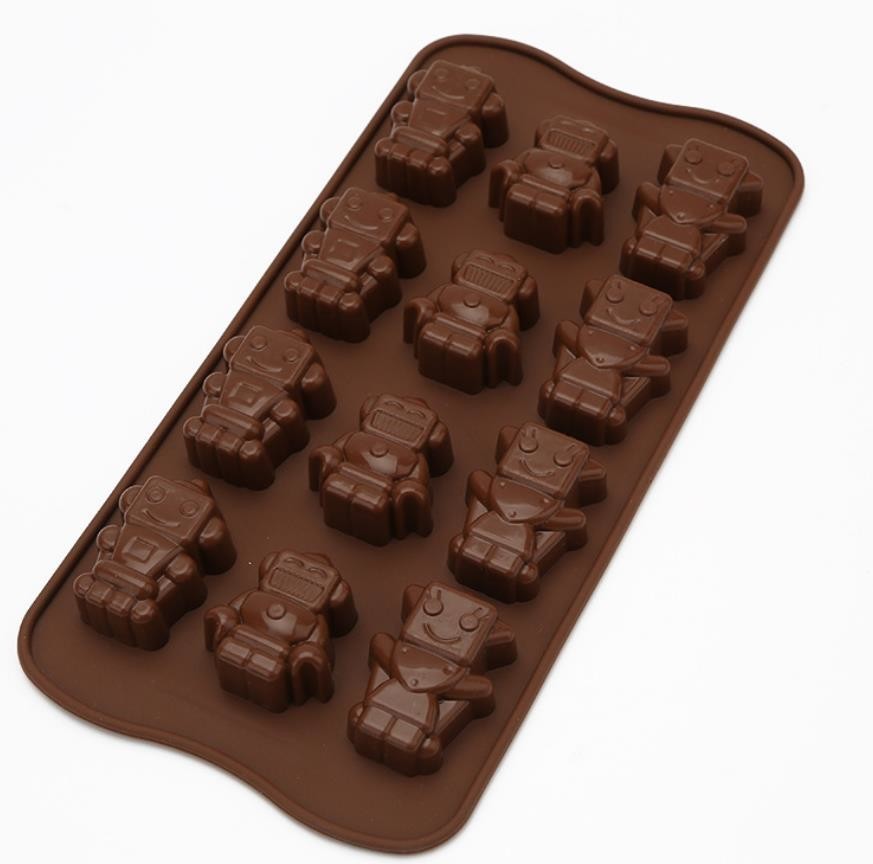Professional Sweet Flexible Silicone Chocolate Molds For Chocolate Making