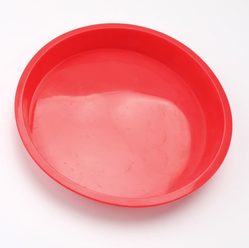 10 Inch Silicone Cake Molds Round Circular Heat Resistant Long Durability