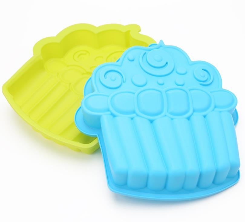 Ice Cream Silicone Baking Cups Large Size Easy Cleaning Non Stick