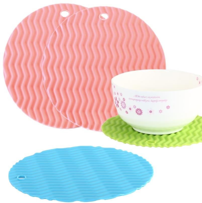 Reusable Silicone Kitchen Tools , Dining Table Placemats Universal
