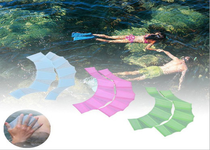 Silicone Webbed Swimming Gloves Cricket For Swimswim And Swimming Exerciser