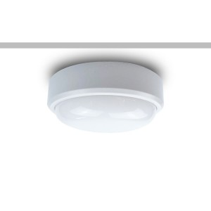 IP65 LED Oyster with selectable colour temperature 3000K, 4500K, 6000K