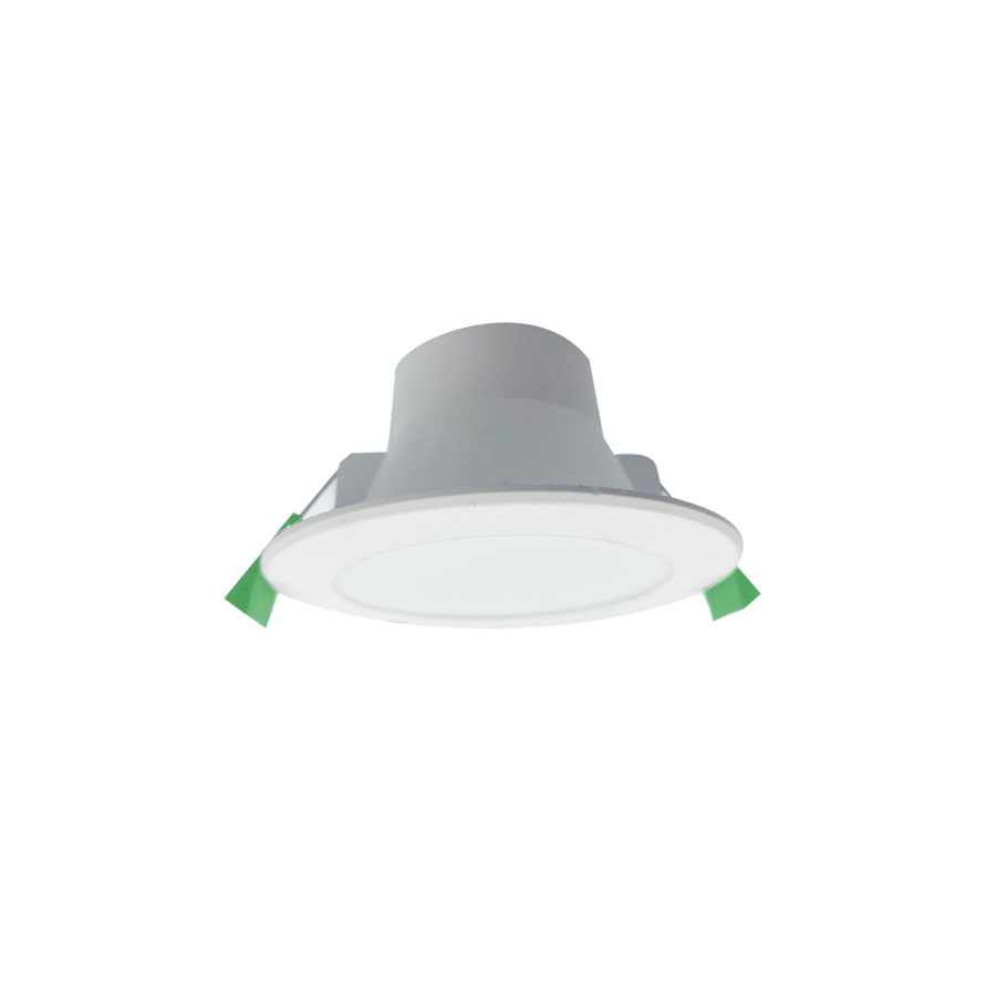 70mm Cut-out Flat Fascia Plastic Cover Aluminum SMD Downlight Featured Image