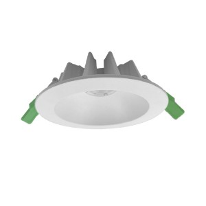 140mm Cut-out Die-casting Aluminum Commercial Deep recessed lighting IP44 25W COB LED Downlights