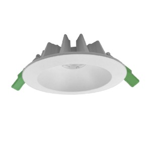 170mm Die-casting Aluminum Commercial Deep recessed lighting IP44 30W COB LED Downlights