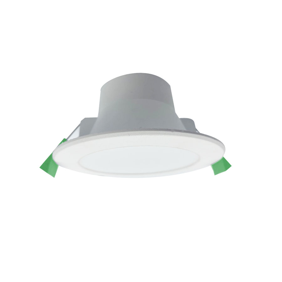 90mm Cut-out  Plastic Cover Aluminum Flat Fascia SMD Downlight Featured Image