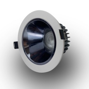 95mm Cut-out Deep Recessed Downlight with Lens