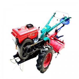 Good flexibility  two wheel walking tractor with electric Starter