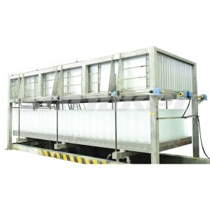 Direct- cooling block ice machine