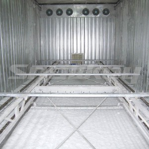 Raking Type Automatic Ice Storage