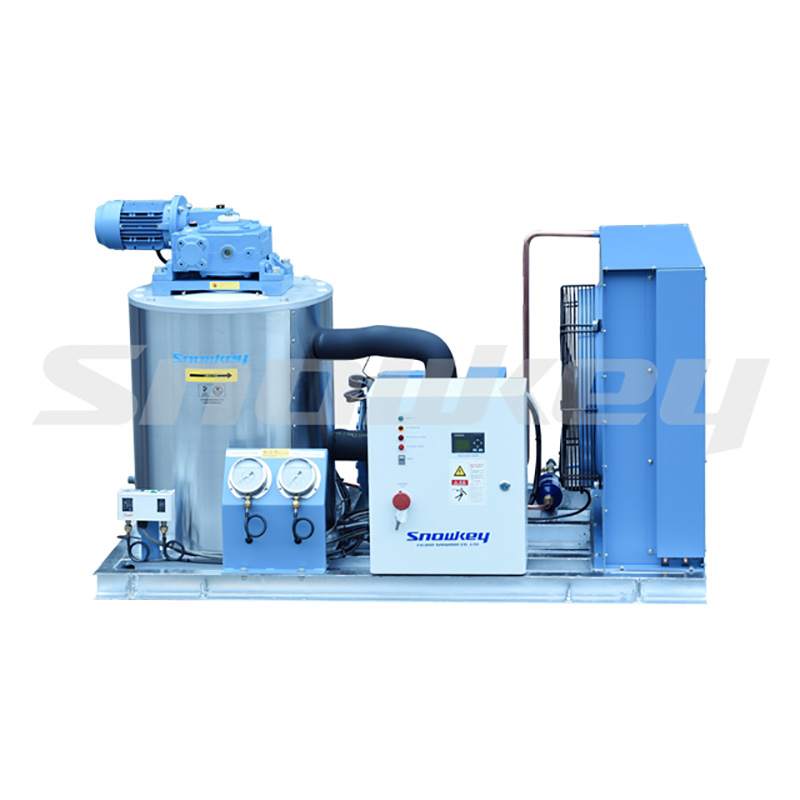 Fresh Water Flake Ice Machine for Land Featured Image