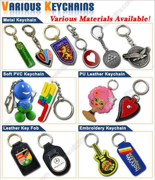 Various Custom Keychains