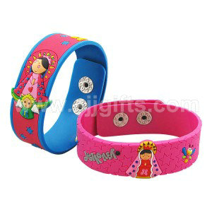 Soft PVC Wristbands & Bracelets