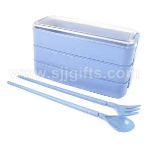 Wheat Straw Lunch Box, Cutlery Sets