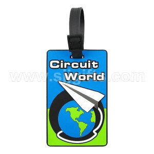Soft PVC Luggage Tags