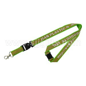 Luxury Lanyards – with flocking or hollow characters