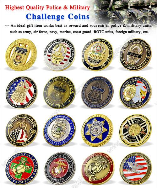Customized Challenge Coins