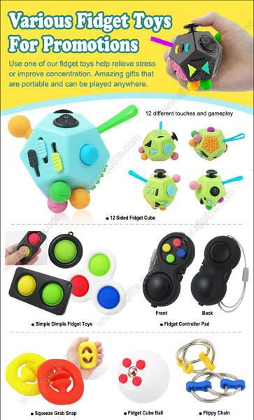 Various Fidget Toys For Promotions
