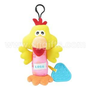 Custom Promotional Plush Keychain