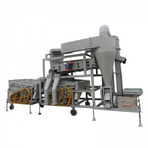 Combined type specific gravity seed cleaner series