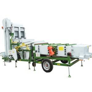 Air seed cleaner series