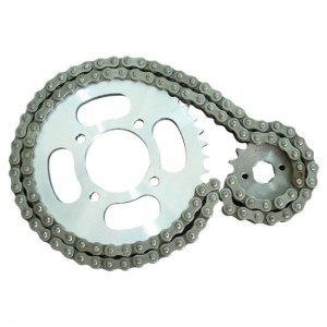 Factory source O Ring Motorcycle Chain - Motorcycle Drive Chain Kit – Shuangkun