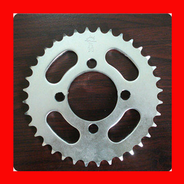 High Quality Motorcycle Sprocket with 1045 Steel